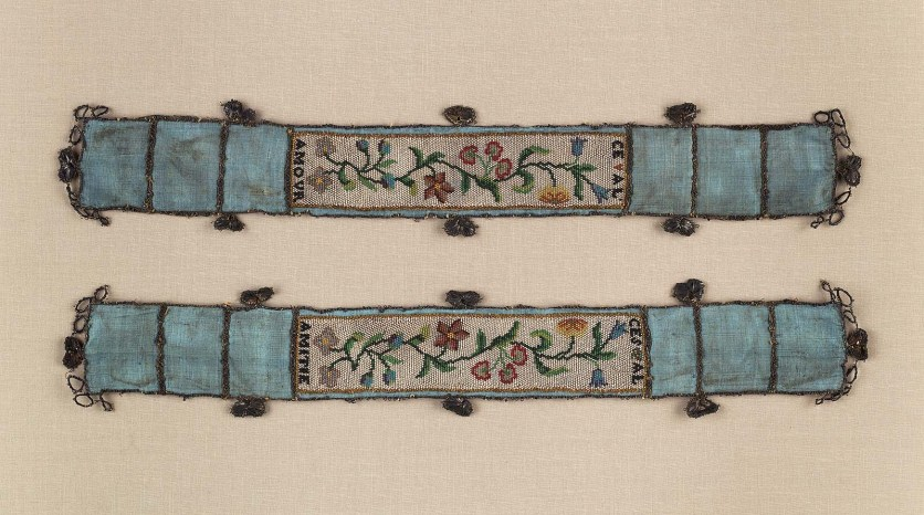 French Garter (one of a pair), 18th century, Museum of Fine Arts Boston