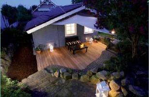 Gartengestaltung mit Holz Holzterassen von Garterra