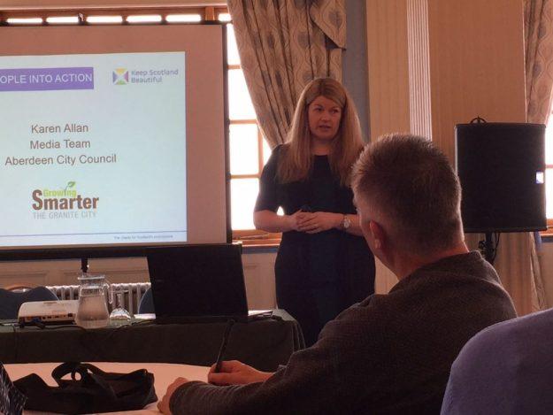 Karen Allan for Aberdeen City Council