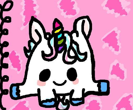 Unicornio Kawaii 3 Desenho De Vovozinha Gartic
