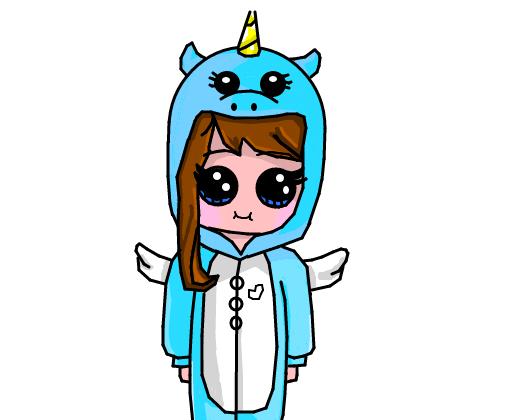 Tem esses outros desenhos lindos também da barbie para pintar. menina unicornio - Desenho de atsuko_suzume - Gartic