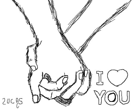 I Love You Desenho De Lucaays Gartic