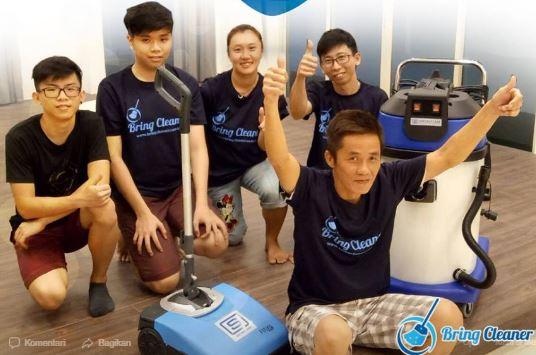 Jenis Metode Pembersihan Membersihkan Rumah di Singapura