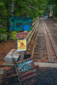 Battle Ax Creek Bridge
