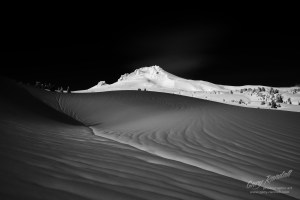 Mount Hood in Black and White