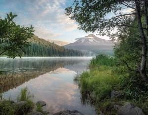 Mt Hood and Trillium Lake Oregon