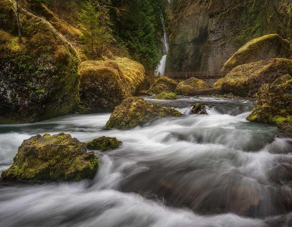 Gorton Creek Columbia River Gorge Oregon