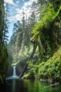 Punchbowl Falls Oregon