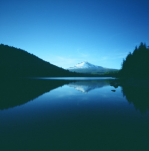 Trillium Lake Pinhole Camera Photo