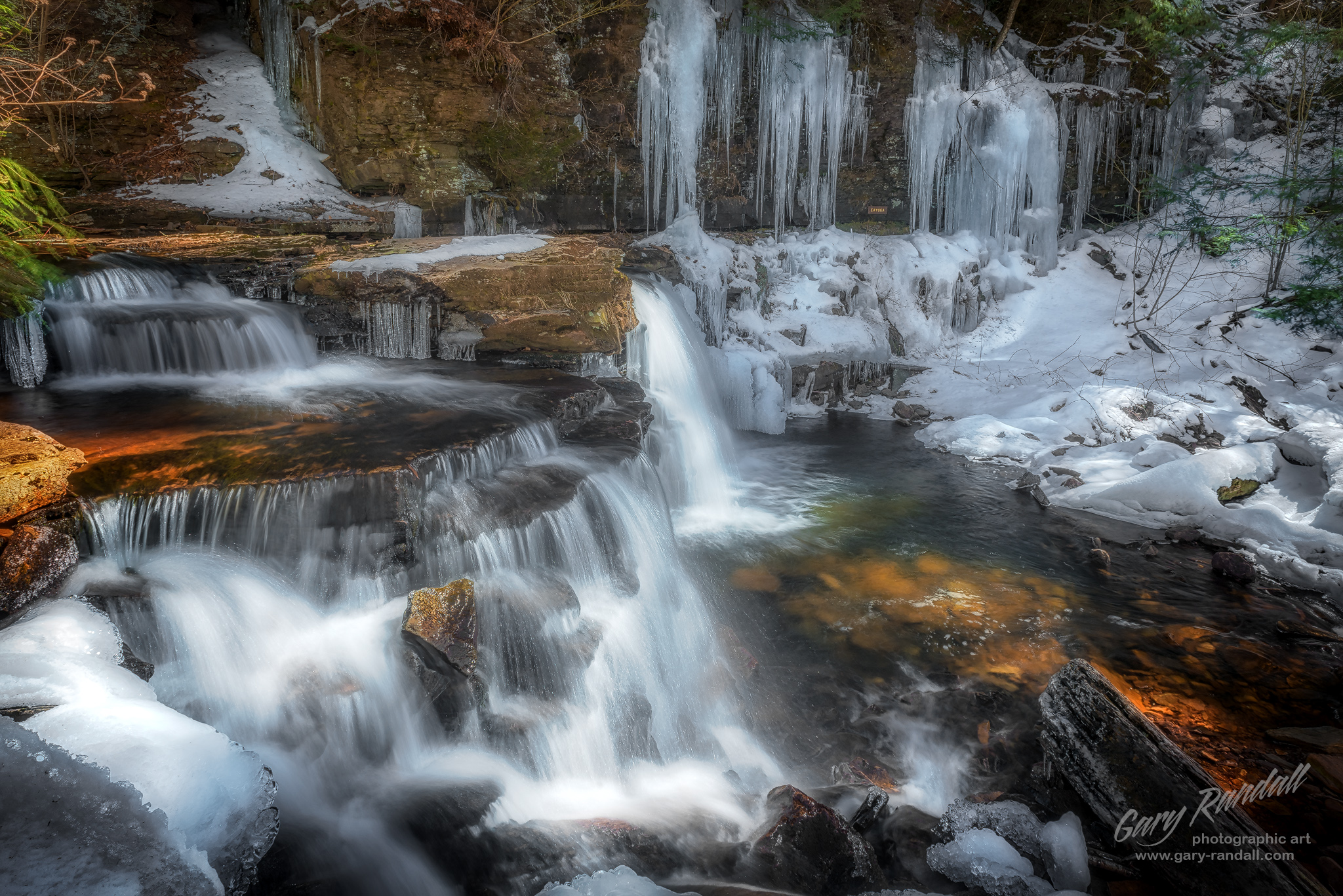 Ricketts Glen Pennsylvania Waterfall