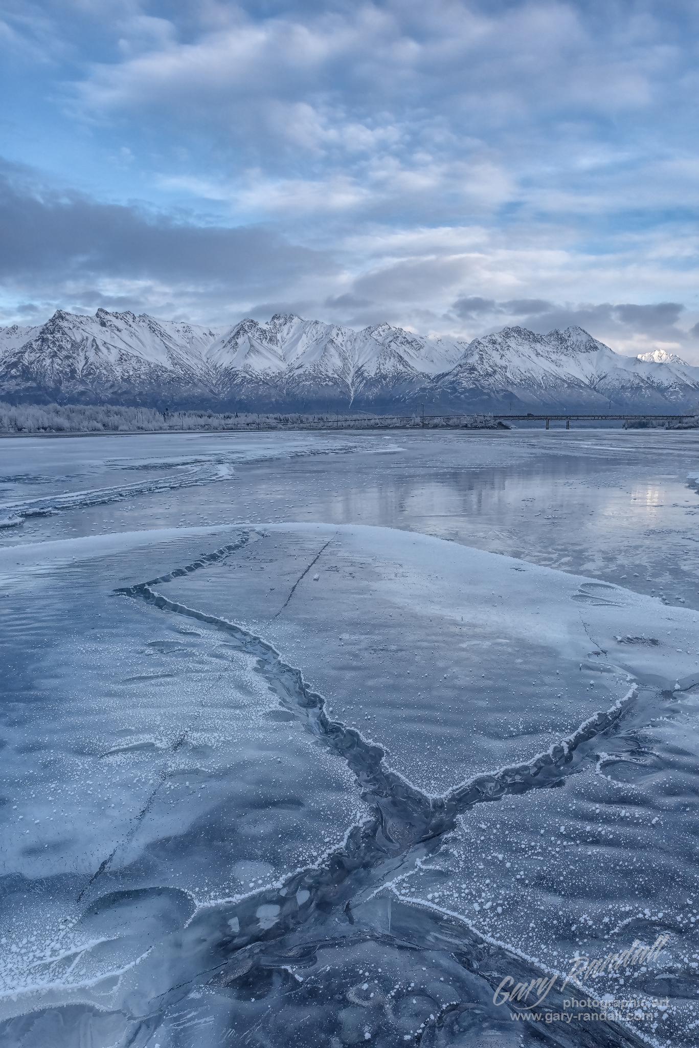 Knik River Winter Ice