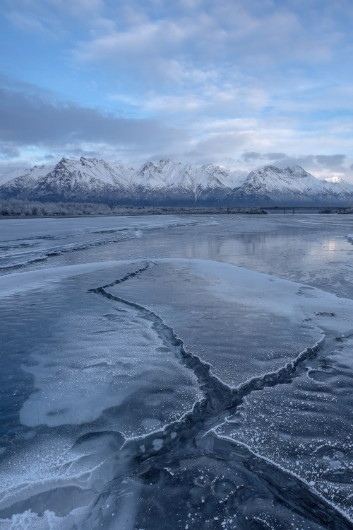 Knik River Alaska Ice