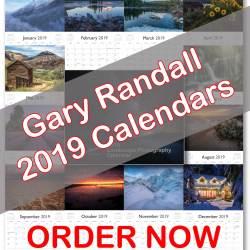 2019 Gary Randall Calendar