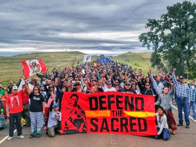 Dakota Access Pipeline protectors