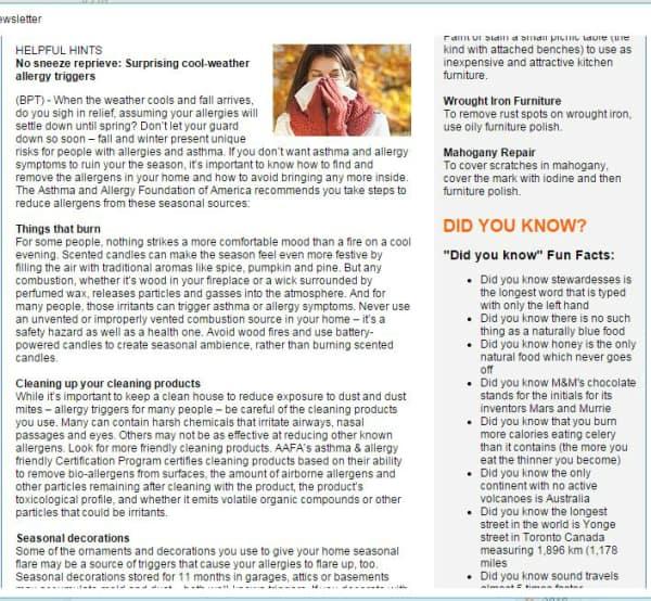 MoreSolds Newsletter 2