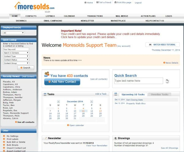 Moresolds Home Page 1