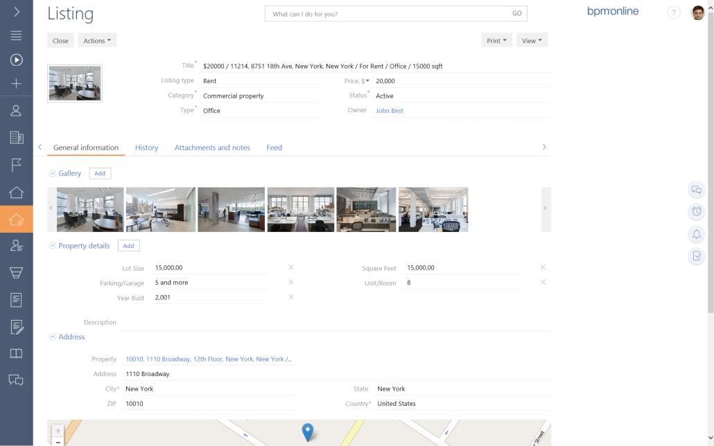 bpm'online listings 2
