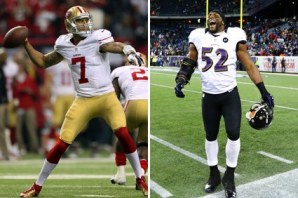 Whose faith will win? The Niners' Colin Kaepernick or the Ravens Ray Lewis