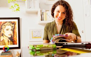 Maria Popova. (Photograph by Elizabeth Lippman for The New York Times)
