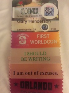 WorldCon Badge