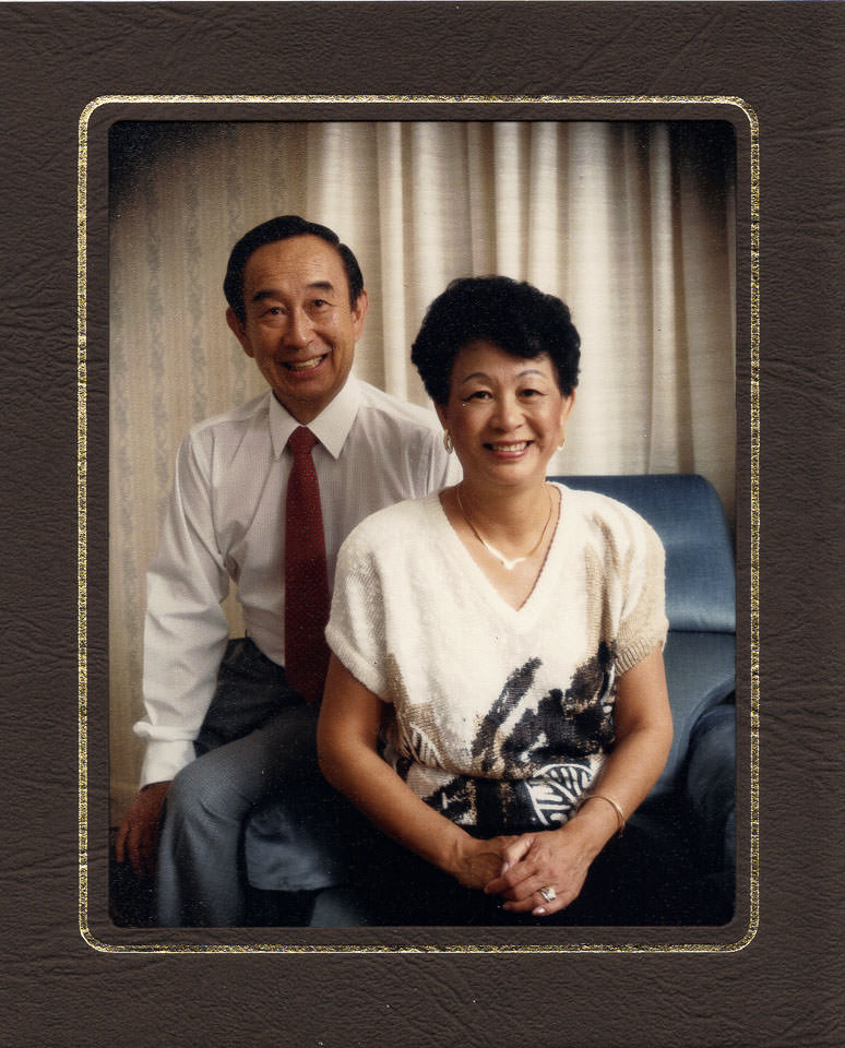 Dad and Mum of Gary Lum
