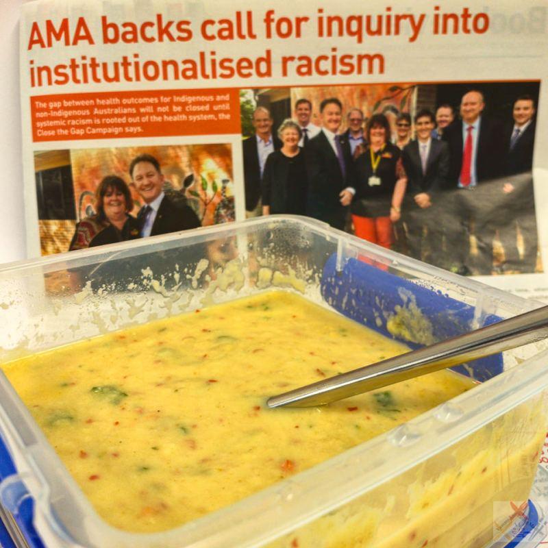 Cauliflower soup Workplace generosity Gary Lum