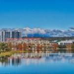 Lake Ginninderra Clouds HDR Gary Lum