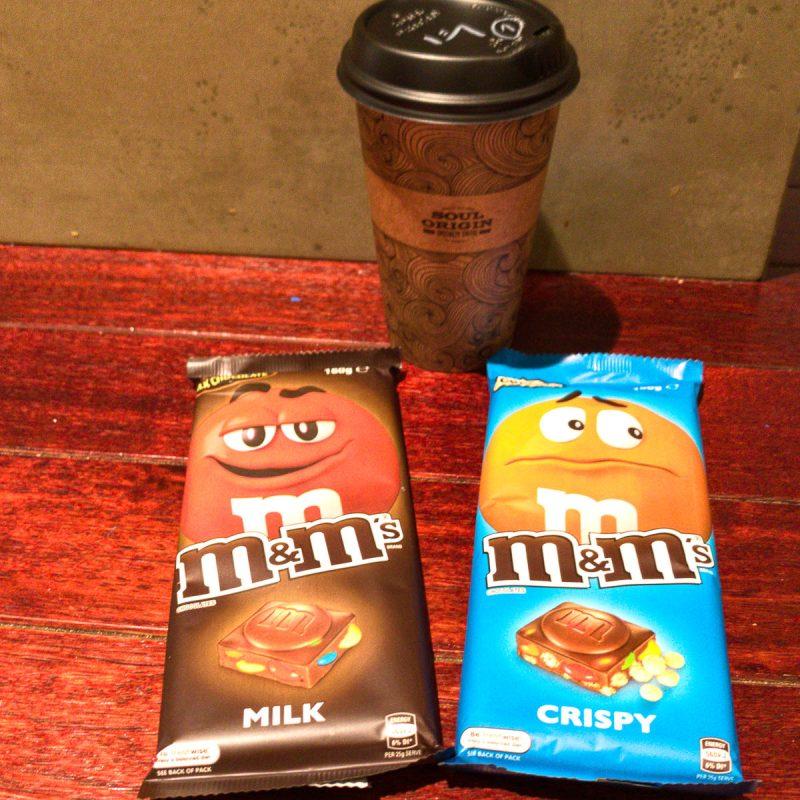 M&Ms and coffee Gary Lum