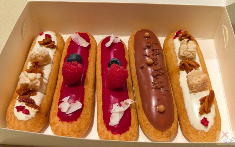 Savour Patisserie Eclairs from Chermside