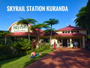 Skyrail Rainforest cableway Kuranda Station