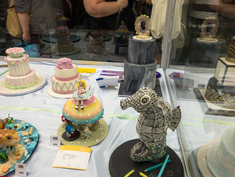 Cake decorating at The Ekka the ekka 2017 Gary Lum
