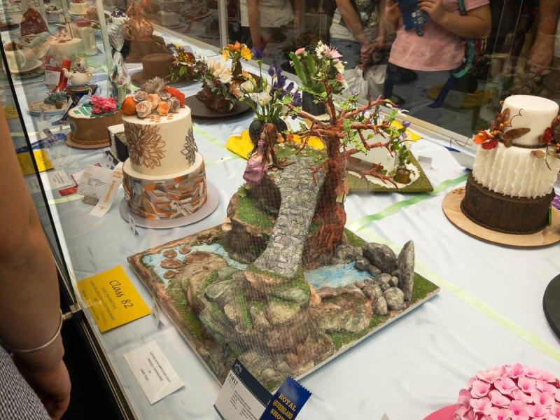 Cake decorating at The Ekka the ekka 2017 Gary Lum