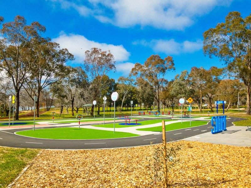 Lake Ginninderra bike park Gary Lum