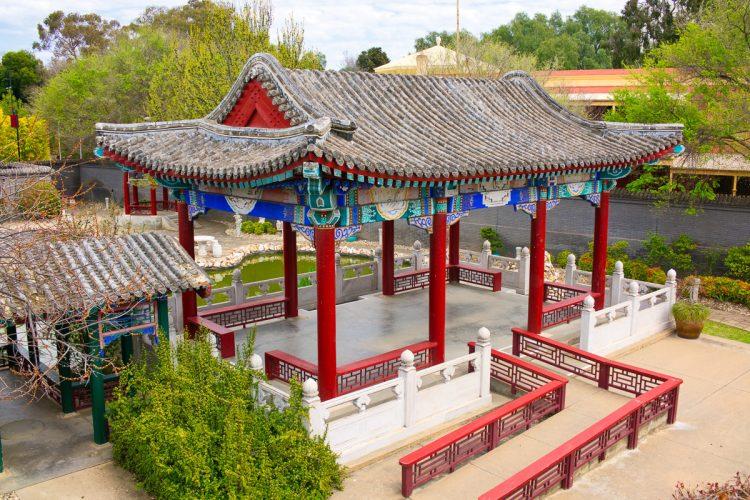 Temple area, Golden Dragon Museum, Bendigo Gary Lum