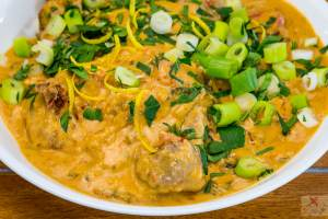 Lamb red curry in coconut cream made in the Tupperware® Micro Pressure Cooker Gary Lum