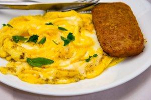 Jalapeño Spam and scrambled eggs Gary Lum