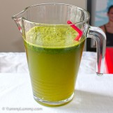Friday2014-01-31 17.25.14AEDTGreen drink made with spinach and mint