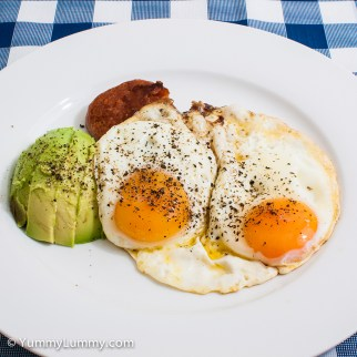 Wednesday2014-02-19 06.03.25AEDT Spam and eggs for breakfast
