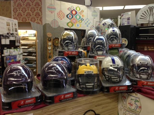 I now stock mini helmets in my Arlington store.