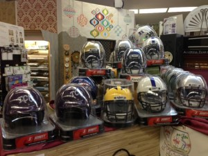 I now stock mini helmets in my Arlington store.