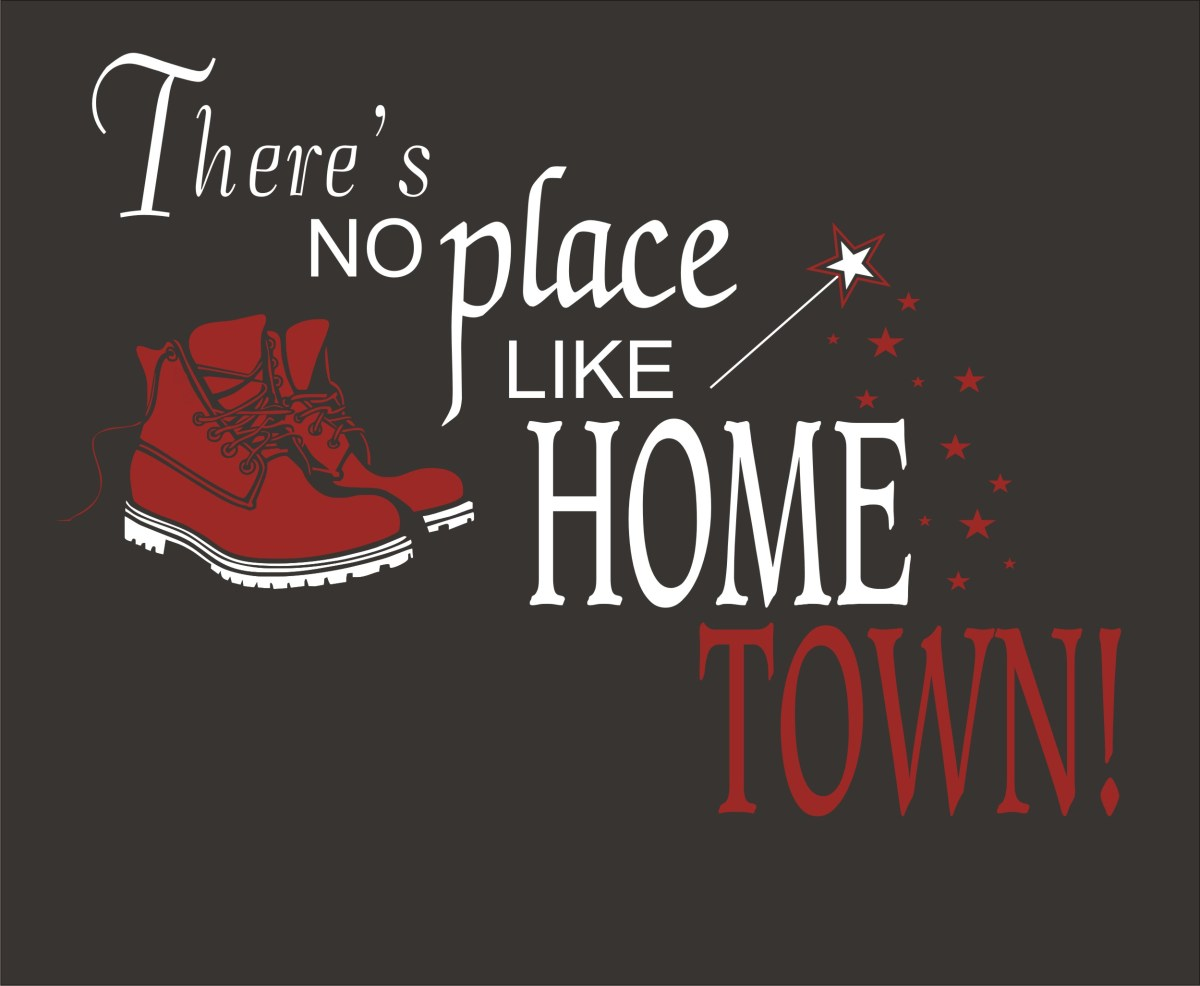Home town podcast design