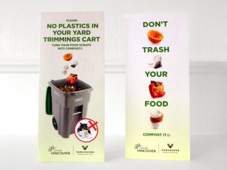 Pilot Brochures – Composting through the yard trimmings cart