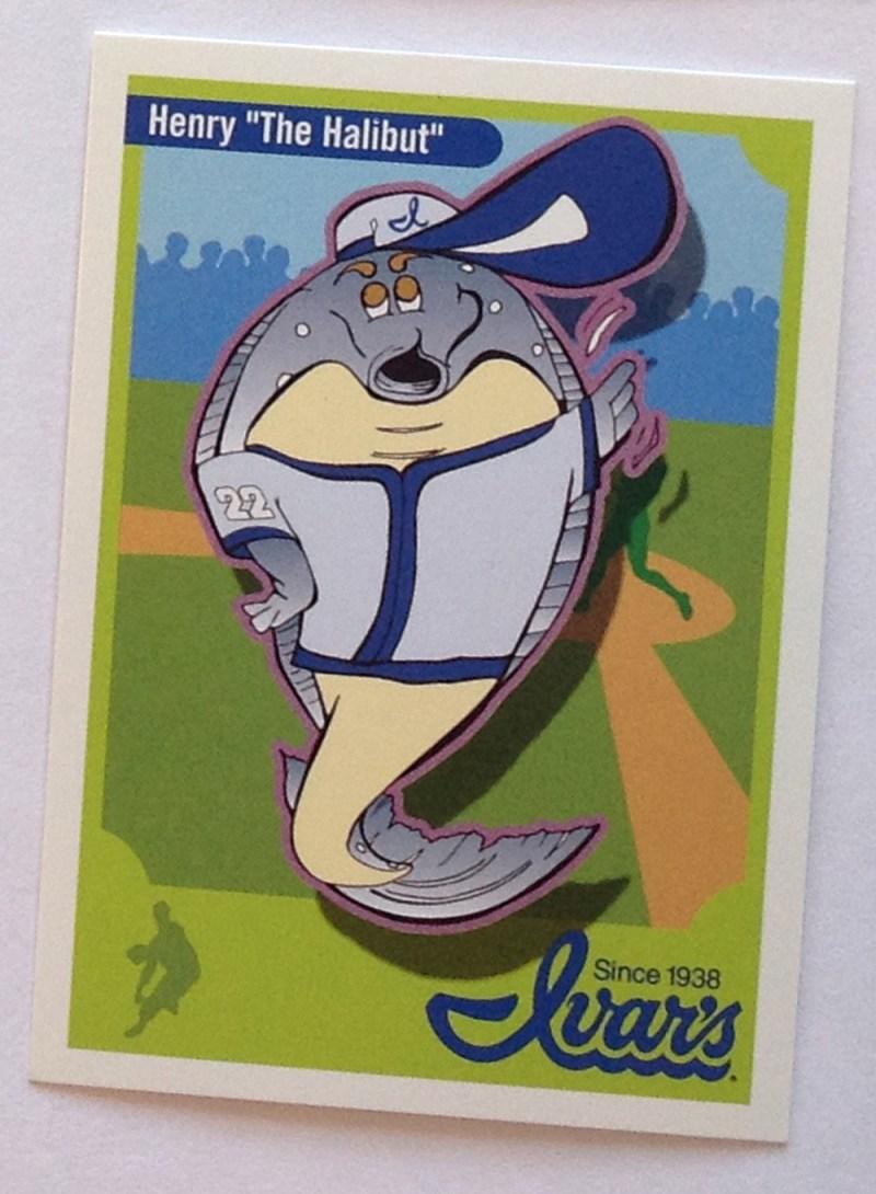 Ivar's Seafood – Baseball Cards