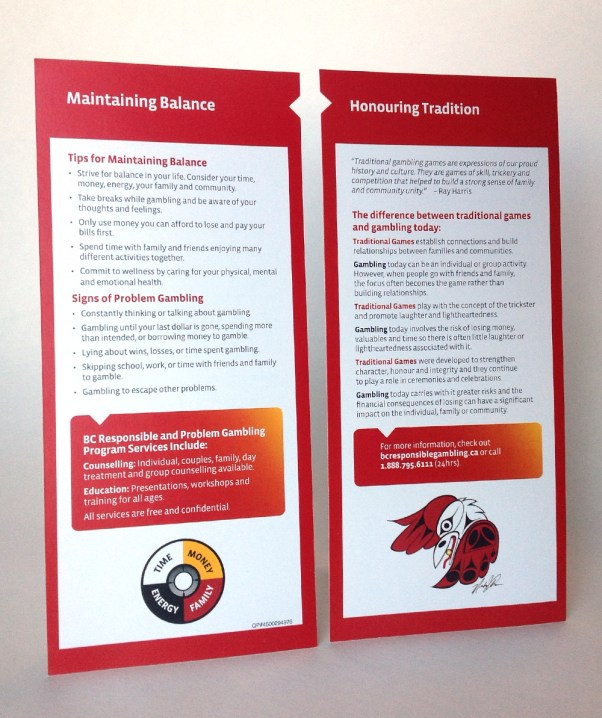 Rack Cards | Maintaining Balance – Indigenous