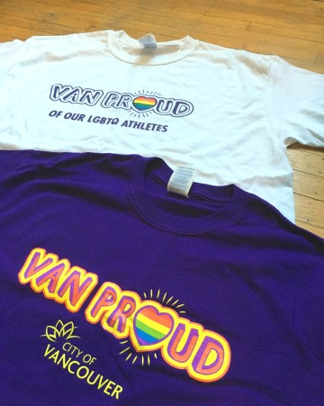 City of Vancouver | Van Proud Branded T-Shirt With Inclusive Slogans
