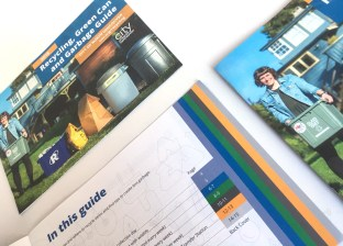 City of North Vancouver   2018 Recycling, Green Can and Garbage Guide   Colour Coded Tabs
