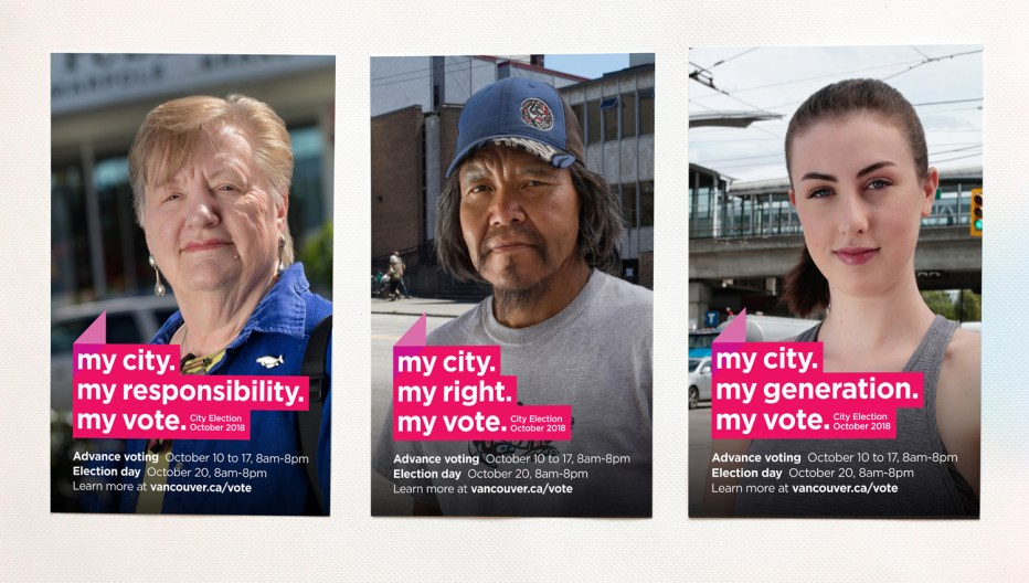 Vancouver Election | My City... Posters