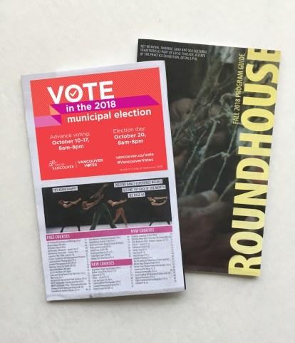 Vancouver Elections 2018 | Community Program Ads