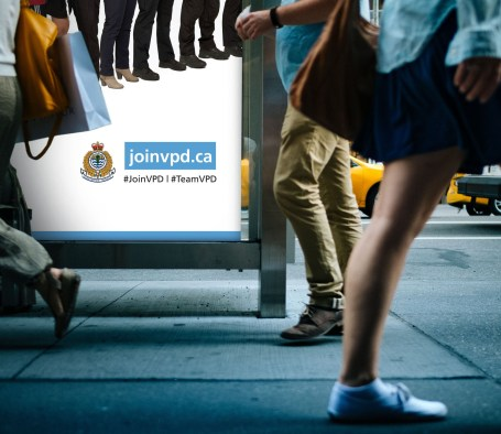 Vancouver Police Department   Recruitment Poster Campaign