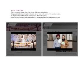Website video function